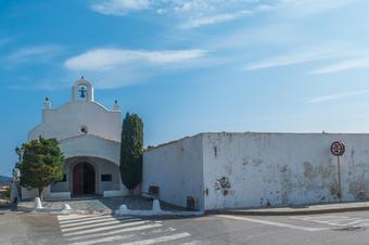 Ermita de Sant Baldiri. Ruta de Cadaqués al Far de Cap de Creus.