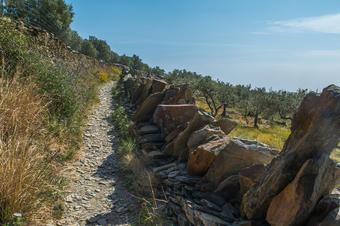 Camí del Cap de Creus. Ruta de Cadaqués al Far de Cap de Creus.