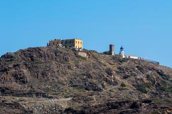 Vistes al far de Cap de Creus. Ruta de Cadaqués al Far de Cap de Creus.