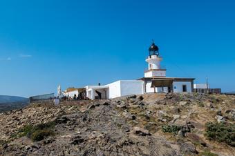 El Far de Cap de Creus. Ruta de Cadaqués al Far de Cap de Creus.