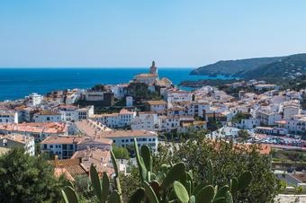 Vistes al poble de Cadaqués.