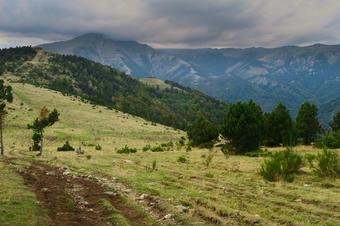 Ruta de Espinavell a Coll Pregon.