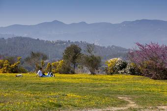 Parc Turó de Can Mates. Sant Cugat.