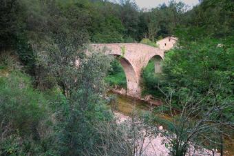 Ruta al Pont de Malafogassa. Vilanova de Sau