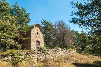 Sant Roc. Ruta dels Pedrons. Sant Boi de Lluçanès.