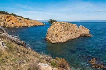 """Ruta """"Camí de ronda de l'Escala"""". Parc Natural del Montgrí, les Illes Medes i el Baix Ter."""