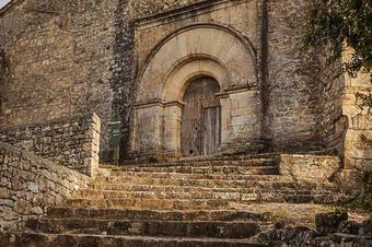 Cap al pla Novell pel castell de Vilademàger. Serres de l'Anoia