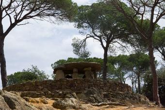 Ruta del dolmen de Pedra Gentil.