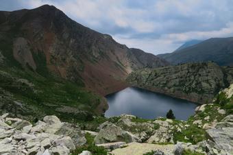 Camí de Rus cap el llacs.Capdella