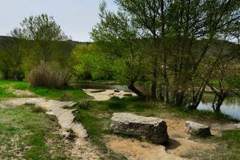 Un tomb del camí de Serrasanç. Sallent
