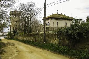 Canet-Santa Florentina-La Creu. Canet de Mar.