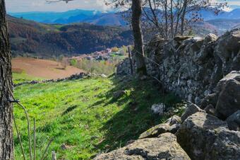 Camí de Molló a Sta MAgdalena. Parc Natural Capçaleres del Ter i del Freser