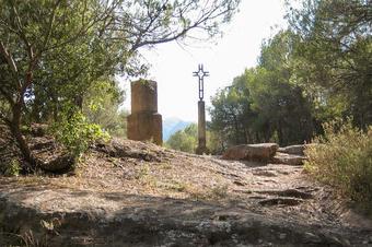 Castell de Pera. Sant Llorenç Savall.