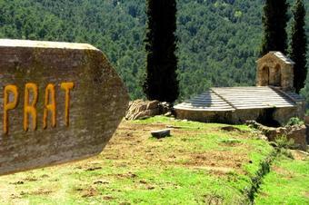 """Ruta """"Les Montserratines"""", a Odèn"""