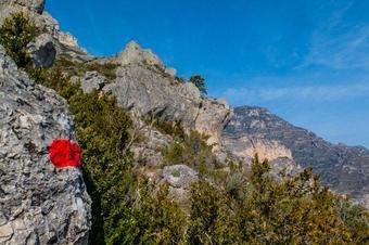 Ruta del barranc de la Caramella, a Roquetes.