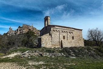 De Bellprat al castell de Queralt. Serres de l'Anoia