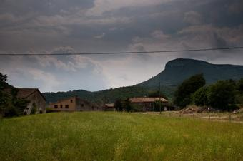 Ruta del volcà de la Banya del Boc.