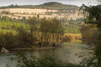 Meandre de Castellbell i el Vilar des de la Riba