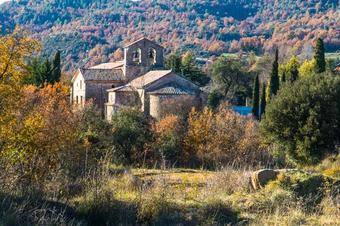 """Ruta """"Pantà i Rectoria de Sant Pau de Casserres"""" Casserres."""
