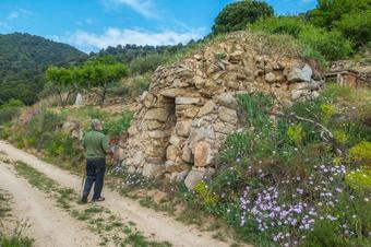 """Ruta """"Barraques de Vallbona d'Anoia"""". Vallbona d'Anoia."""