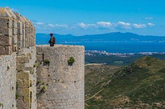 """""""Ruta al Castell del Montgrí"""". Torroella de Montgrí."""