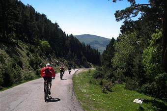 Tram 1/5 Vallter-Ripoll. Ruta del Ter en bici