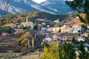 Ruta a Sant Miquel i les canals, a Vilada.