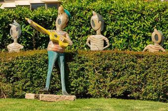 Ruta de les escultures. Platja d'Aro.