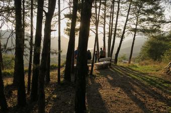 El passeig del metge a Vilada.