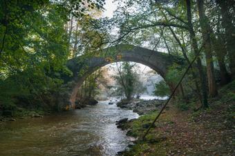"""""""Ruta mediambiental del riu Ges"""". Sant Pere de Torelló."""