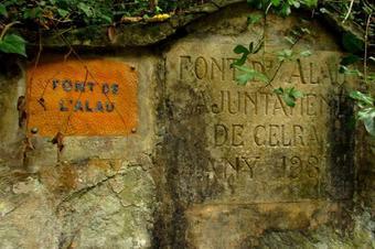 """Ruta """"A la font d´alau pel Castell de Palagret"""". Celrà"""