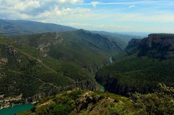 """Ruta """"Serra de Mont-roig i Montalegre"""". Vilanova de la Sal"""