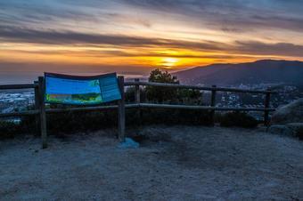 """""""Ruta de la font Picant al Montcabrer"""". Cabrera de Mar."""
