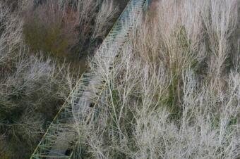 Ruta ambiental pel riu Cardener. Súria