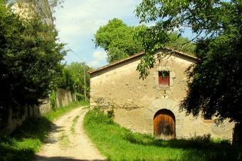 Camí de tornada de la ruta dels castells.