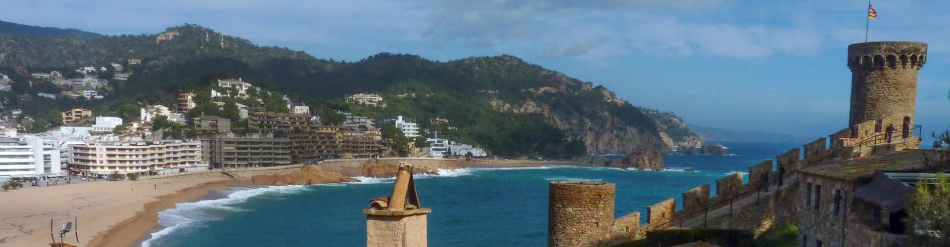 d380d4896e65 Vila Vella i platja de Tossa de Mar